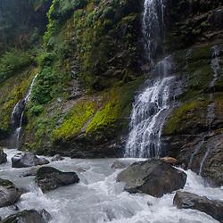 Feature Show Falls, Mt. Baker-Snoqualmie National Forest, Washington, US