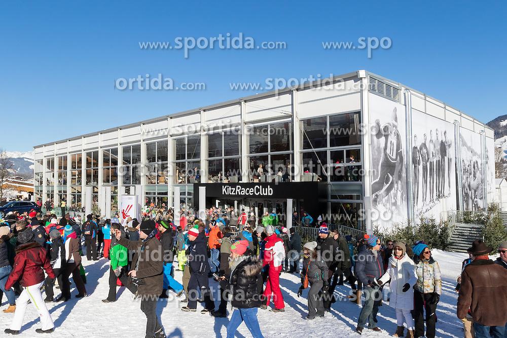 21.01.2017, Hahnenkamm, Kitzbühel, AUT, FIS Weltcup Ski Alpin, Kitzbuehel, Abfahrt, Herren, im Bild der KitzRaceClub // the KitzRaceClub during the men's downhill of FIS Ski Alpine World Cup at the Hahnenkamm in Kitzbühel, Austria on 2017/01/21. EXPA Pictures © 2017, PhotoCredit: EXPA/ Serbastian Pucher