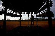 Pato de Minas_MG, Brazil. <br /> <br /> Vendedor na rodovia BR 365 em Pato de Minas, Minas Gerais.<br /> <br /> A seller in the highway BR 365 in Pato de Minas, Minas Gerais.<br /> <br /> Foto: LEO DRUMOND / NITRO