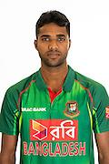 Ebadot Hossain, Bangladesh cricket team headshots ahead of their New Zealand tour. Cobham Oval, Whangarei. 21 December 2016. Copyright Image: Heath Johnson / www.photosport.nz