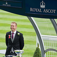 ASCOT, ENGLAND - JUNE 20:  Sir Chris Hoy on the fifth and final day of Royal Week  at Ascot Racecourse on June 20, 2009 in Ascot, England  (Photo by Marco Secchi/Getty Images)