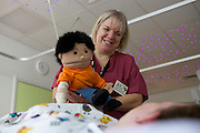 Sharon Aylott is a Health Play Specialist on the Burns unit at Chelsea and Westminster hospital.