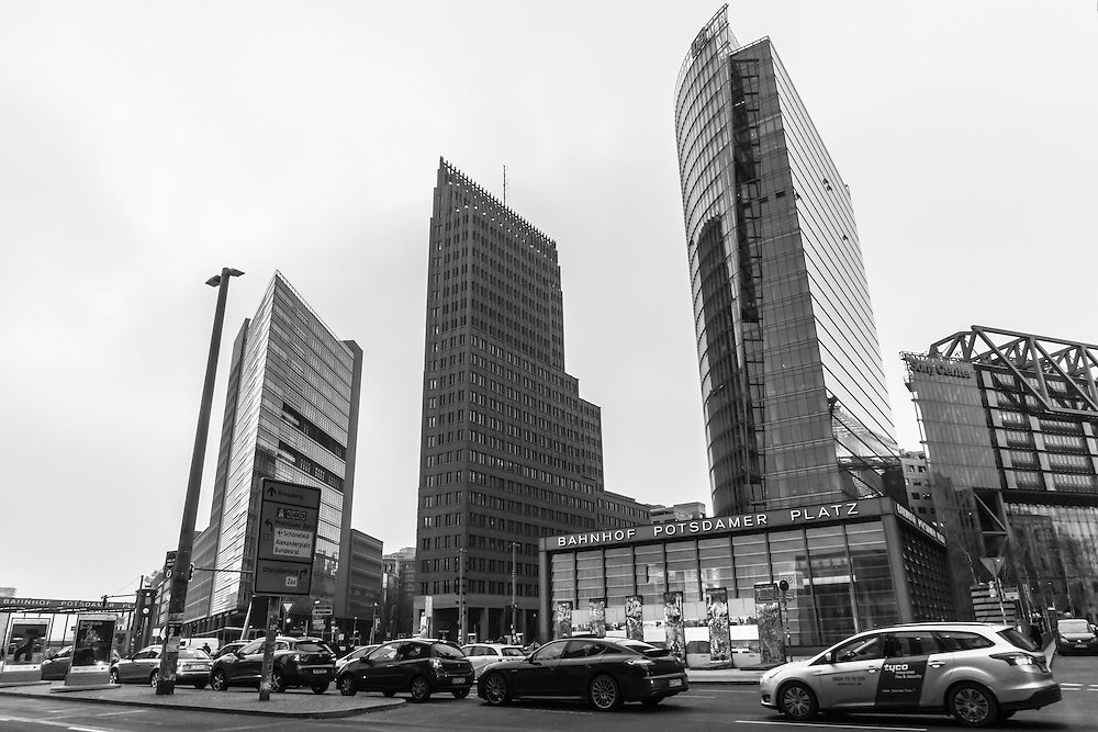 The original Bahnhof Potsdamer Platz was the first railway station built in Berlin. The modern station is completely underground