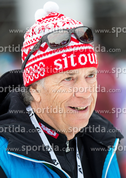 28.02.2016, Hannes Trinkl Rennstrecke, Hinterstoder, AUT, FIS Weltcup Ski Alpin, Hinterstoder, Riesenslalom, Herren, 2. Lauf, im Bild Prof. Peter Schröcksnadel (ÖSV Präsident) // Peter Schroecksnadel Austrian Ski Association President after men's Giant Slalom of Hinterstoder FIS Ski Alpine World Cup at the Hannes Trinkl Rennstrecke in Hinterstoder, Austria on 2016/02/28. EXPA Pictures © 2016, PhotoCredit: EXPA/ Johann Groder
