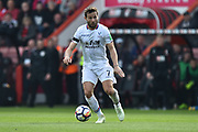 Yohan Cabaye (7) of Crystal Palace during the Premier League match between Bournemouth and Crystal Palace at the Vitality Stadium, Bournemouth, England on 7 April 2018. Picture by Graham Hunt.