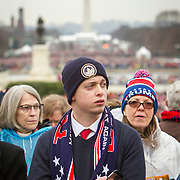 "Kyle Knight traveled from LaGrande, OR to witness the Inauguration of Donald Trump as the 45th President of the United States, January 20, 2017.  He hopes for ""...a functioning administration...it's been a long 8 years..."".  John Boal Photography"