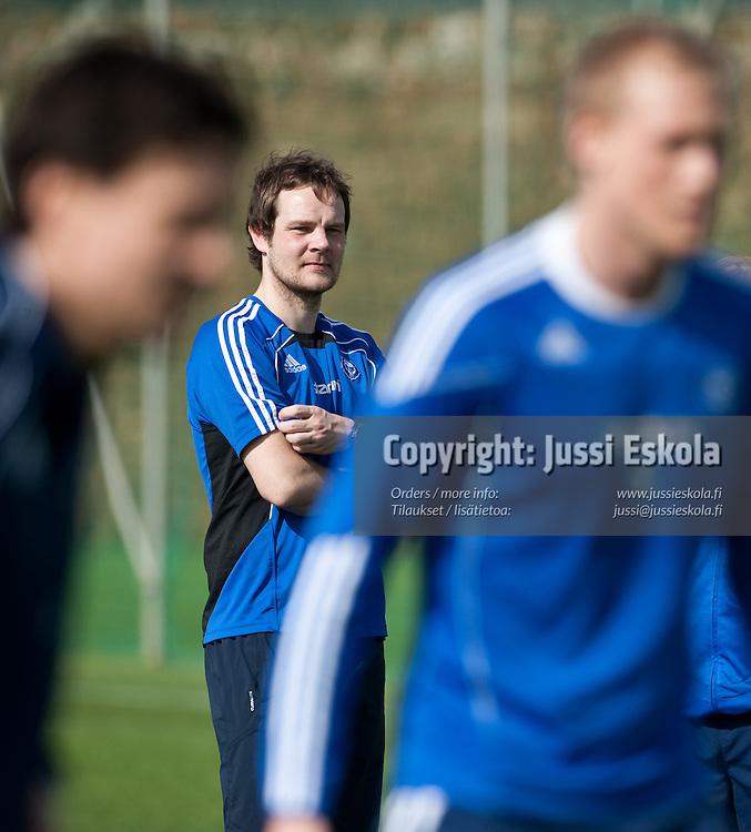 Juho Rantala. HJK. Harjoitukset. Marbella. Espanja 12.3.2011. Photo: Jussi Eskola