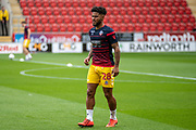 Liam Bridcutt of Bolton Wanderers warming up before the EFL Sky Bet League 1 match between Rotherham United and Bolton Wanderers at the AESSEAL New York Stadium, Rotherham, England on 14 September 2019.