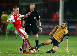 Gary O'Neil of Bristol City wins a tackle - Mandatory by-line: Matt McNulty/JMP - 17/01/2017 - FOOTBALL - Highbury Stadium - Fleetwood,  - Fleetwood Town v Bristol City - Emirates FA Cup Third Round Replay