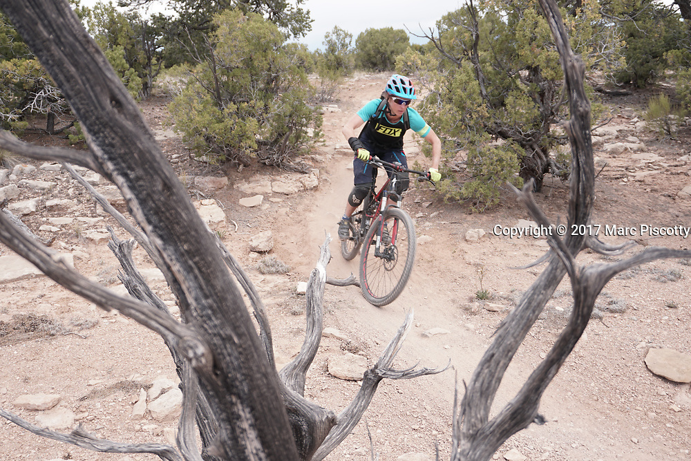 SHOT 5/21/17 12:25:04 PM - Emery County is a county located in the U.S. state of Utah. As of the 2010 census, the population of the entire county was about 11,000. Includes images of mountain biking, agriculture, geography and Goblin Valley State Park. (Photo by Marc Piscotty / © 2017)