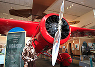 Amelia Earhart's Lockheed 5B Vega at the Smithsonian Air and Space Museum.Photo by Dennis Brack  No that's not my photo of Amelia Earhart