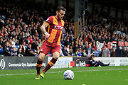 Bradford City midfielder Romain Vincelot (6) during the EFL Sky Bet League 1 match between Bury and Bradford City at the Energy Check Stadium at Gigg Lane, Bury, England on 14 October 2017. Photo by Richard Holmes.