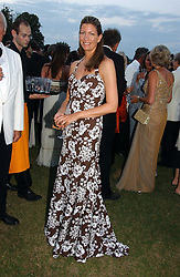 COUNTESS COSIMA PAVONCELLI she was Cosima von Bulow at the Cowdray Gold Cup Golden Jubilee Ball held at Cowdray Park Polo Club, on 21st July 2006.<br /><br />NON EXCLUSIVE - WORLD RIGHTS