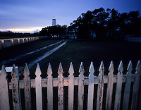 AA05858-01...NORTH CAROLINA - Ocracoke Lighthouse on Ocracoke Island in the Outter Banks.