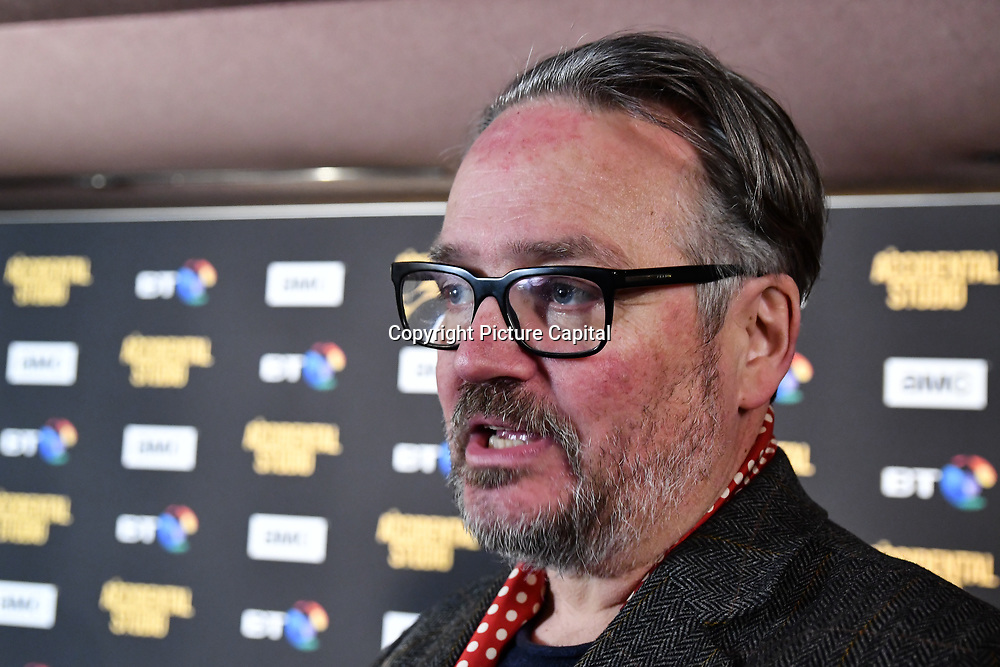 Charlie Higson Arrivers at Premiere of documentary about the British film production company, Handmade Films, created by George Harrison of the Beatles on 27 March 2019, London, UK.