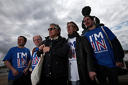 UK ENGLAND MARGATE 14MAY16 - Vote Remain campaign volunteers walk through Margate city centre, Kent, England.<br /> <br /> jre/Photo by Jiri Rezac<br /> <br /> © Jiri Rezac 2016