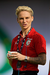 NEWPORT, WALES - Tuesday, June 12, 2018: Wales' Jessica Fishlock before the FIFA Women's World Cup 2019 Qualifying Round Group 1 match between Wales and Russia at Newport Stadium. (Pic by David Rawcliffe/Propaganda)