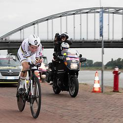 28-08-2018: Wielrennen: Ladies Tour: Arnhem<br /> Annemiek van Vleuten wint de proloog van de Boels Ladies Tour
