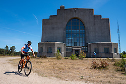 Michèl in training on the beautiful mountain bike track around Radio Kootwijk, the first serious step was taken during this Corona crisis for La Vuelta Soria & Navarra at the Veluwe on June 01, 2020 in Radio Kootwijk, Netherlands