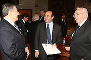 DESCRIZIONE : Roma Palazzo Chigi Commissione FIBA in visita per assegnazione dei Mondiali 2014<br /> GIOCATORE : Boris Stankovic Massimo Cilli Rocco Crimi<br /> SQUADRA : Fiba Fip<br /> EVENTO : Visita per assegnazione dei Mondiali 2014<br /> GARA :<br /> DATA : 03/04/2009<br /> CATEGORIA : Ritratto<br /> SPORT : Pallacanestro<br /> AUTORE : Agenzia Ciamillo-Castoria/G.Ciamillo