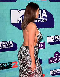 Vicky Pattison attending the MTV Europe Music Awards 2017 held at The SSE Arena, London.