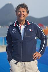 Bruno Jourdren, Sailing, Voile, FRA à Rio 2016 Paralympic Games, Brazil