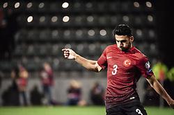 October 9, 2017 - Turku, Finland - Ismail Koybasi of Turkey  during the FIFA World Cup 2018 qualification football match between Finland and Turkey in Turku, Finland on October 9, 2017. (Credit Image: © Antti Yrjonen/NurPhoto via ZUMA Press)