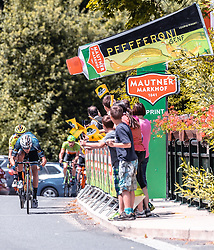08.07.2019, Wiener Neustadt, AUT, Ö-Tour, Österreich Radrundfahrt, 2. Etappe, von Zwettl nach Wiener Neustadt (176,9 km), im Bild Matthias Krizek (Team Felbermayr Simplon Wels, AUT), Punktewertung // Matthias Krizek (Team Felbermayr Simplon Wels, AUT), Punktewertung during 2nd stage from Zwettl to Wiener Neustadt (176,9 km) of the 2019 Tour of Austria. Wiener Neustadt, Austria on 2019/07/08. EXPA Pictures © 2019, PhotoCredit: EXPA/ JFK