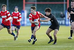 Jack Lloyd of Bristol Bears U18 drives forward with the ball - Mandatory by-line: Arron Gent/JMP - 12/01/2020 - RUGBY - Allianz Park - London, England - Saracens U18 v Bristol Bears U18 - Premiership U18 Academy