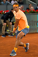 Rafael Nadal during the Madrid Open at Manzanares Park Tennis Centre, Madrid<br /> Picture by EXPA Pictures/Focus Images Ltd 07814482222<br /> 06/05/2016<br /> ***UK &amp; IRELAND ONLY***<br /> EXPA-ESP-160506-0031.jpg