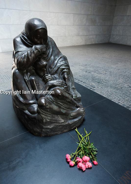Interior of Neue Wache war memorial in Mitte Berlin Germany