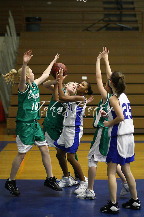 Wetsel Girl's Basketball.vs Greene.1/14/2008..