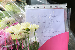 © Licensed to London News Pictures. 16/03/2019. London, UK. A messages lie at High Commission of New Zealand in London. A gunman killed 49 worshippers at the Al Noor Masjid and Linwood Masjid mosques in Christchurch, New Zealand on 15 March. The 28-year-old Australian suspect, Brenton Tarrant, appeared in court on 16 March and was charged with murder. Photo credit: Dinendra Haria/LNP