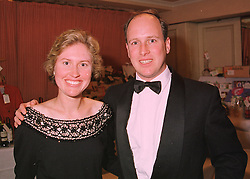 MR & MRS RANDOLPH CHURCHILL, he is great grandson of war time leader Winston Churchill, at a ball in London on 21st May 1998.MHW 17