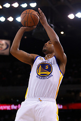 Mar 16, 2012; Oakland, CA, USA; Golden State Warriors small forward Dominic McGuire (5) shoots against the Milwaukee Bucks during the fourth quarter at Oracle Arena. Milwaukee defeated Golden State 120-98. Mandatory Credit: Jason O. Watson-US PRESSWIRE