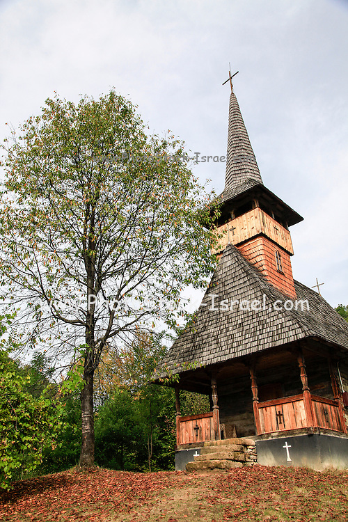Wooden church Maramures County, Romania