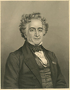 Michel Eugene Chevreul (1786-1889) French chemist.   Engraving c1860.
