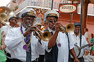 The Treme Brass Band performs at the New Orleans Wine & Food Experience Royal Street Stroll.