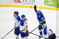 OGRAJENSEK Ken celebrate during friendly game between Slovenia and Italy, on April 25, 2019 in Bled, Slovenia. Photo by Peter Podobnik / Sportida