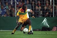 Fotball<br /> Ghana<br /> Foto: imago/Digitalsport<br /> NORWAY ONLY<br /> <br /> 14.04.1993<br /> Abedi Pele (Ghana, vorn) im Duell