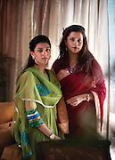 Yuvrani Chitrangada Raje Singh and Mriganka Singh of the royal family of Kashmir.