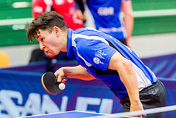 (GBR) WILSON Ross William in action during 15th Slovenia Open - Thermana Lasko 2018 Table Tennis for the Disabled, on May 10, 2018 in Dvorana Tri Lilije, Lasko, Slovenia. Photo by Ziga Zupan / Sportida