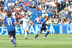 June 10, 2019: Paris, France: Sugasawa of Japan during match against Argentina game valid for group D of the first phase of the Women's Soccer World Cup in the Parc Des Princes. (Credit Image: © Vanessa Carvalho/ZUMA Wire)