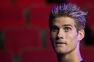 HOUSTON, TX - OCTOBER 2:  Sage Northcutt waits backstage before the UFC 192 weigh-in at the Toyota Center on October 2, 2015 in Houston, Texas. (Photo by Cooper Neill/Zuffa LLC/Zuffa LLC via Getty Images) *** Local Caption *** Sage Northcutt
