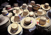Hat at pointe-a-Pitre market, Guadeloupe, Caraibe, France