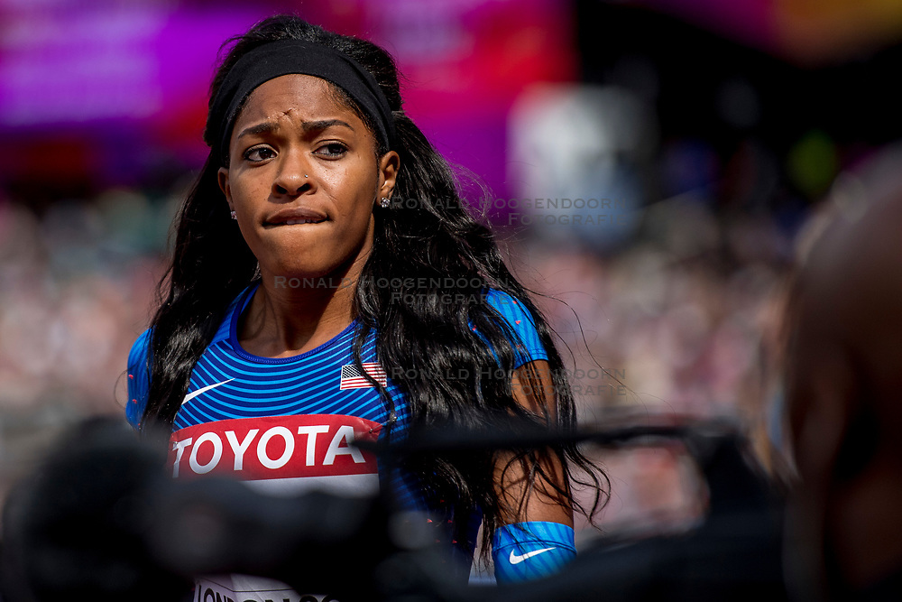 06-08-2017 IAAF World Championships Athletics day 3, London<br /> Erica Bougard USA