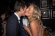 James Rothschild, Ade and Olivia Buckingham, Tatler magazine Little Black Book party, Tramp. Jermyn St. 10 November 2004. ONE TIME USE ONLY - DO NOT ARCHIVE  © Copyright Photograph by Dafydd Jones 66 Stockwell Park Rd. London SW9 0DA Tel 020 7733 0108 www.dafjones.com