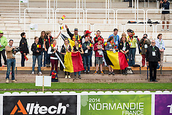 Supporter, BEL - Individual Test Grade IV Para Dressage - Alltech FEI World Equestrian Games™ 2014 - Normandy, France.<br /> © Hippo Foto Team - Jon Stroud <br /> 25/06/14