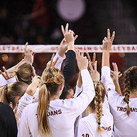 USC Women's Volleyball 2017 v Albany