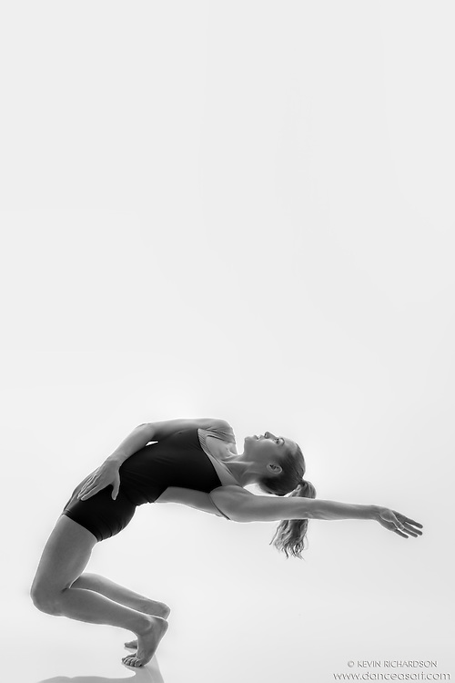 Black and white dance photography- All Back- Dance As Art Studio Series with Ashley Whitson